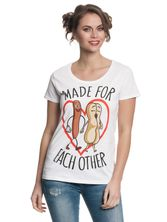 Sausage Party Made For Each Other Girl Shirt white – Bild 1