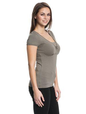 Vive Maria Lovely Lace Shirt grün – Bild 2