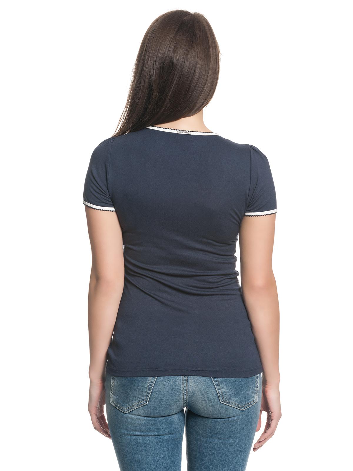 vive maria seaside damen t shirt dunkelblau damen t shirts tops blusen. Black Bedroom Furniture Sets. Home Design Ideas
