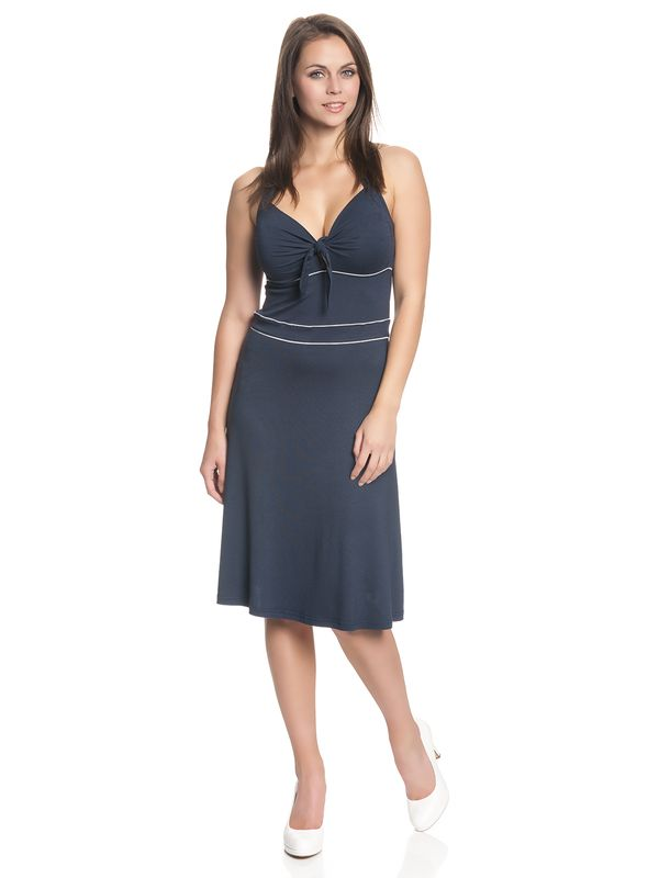 Vive Maria Big Sea Holderneck Dress for Women Dark Blue – Bild 1