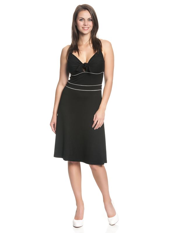 Vive Maria Big Sea Holderneck Dress for Women Black – Bild 1