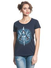 Assassin's Creed Vulpture Girl Shirt deep navy – Bild 0