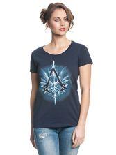 Assassin's Creed Vulpture Girl Shirt deep navy – Bild 0