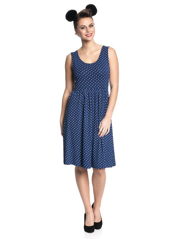 Pussy Deluxe Best Dotties Dress navy – Bild 1