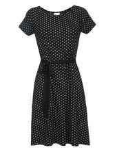 Pussy Deluxe Basic Dotties Dress black – Bild 0