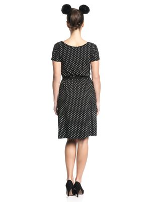 Pussy Deluxe Basic Dotties Dress Kleid schwarz – Bild 3