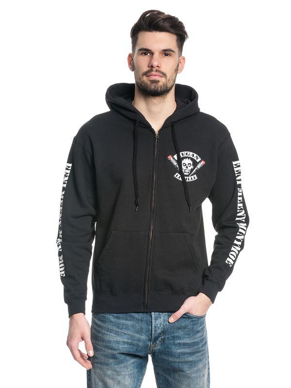 The Walking Dead Negan Lucille Zip-Hooded Jacket black – Bild 2