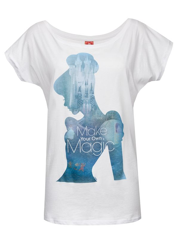 Disney Cinderella Magic Girl Shirt Frauen T-Shirt weiss – Bild 1