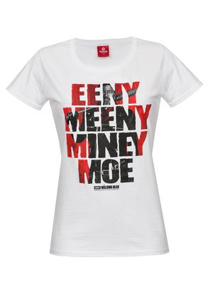 The Walking Dead Eeny Meeny Girl Shirt Frauen T-Shirt weiss – Bild 0