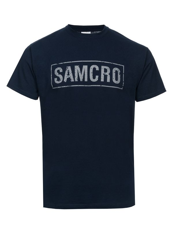 Sons Of Anarchy Samcro Destroyed T-Shirt navy Ansicht