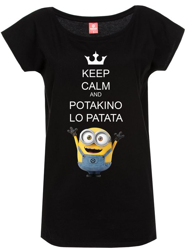 Minions Potakino Lo Patata Tee for Women Black – Bild 1