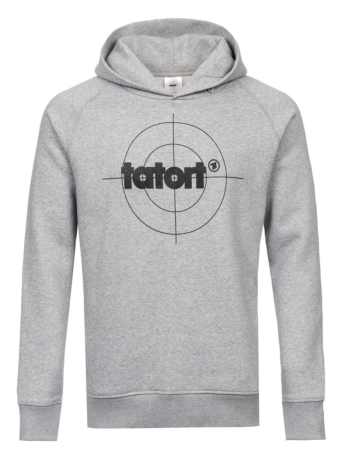 7185e66dccf Tatort Classic Hooded Sweater grey-melange Men sweater   hoodies