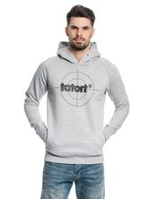 Tatort Classic Hooded Sweater grey-melange – Bild 1