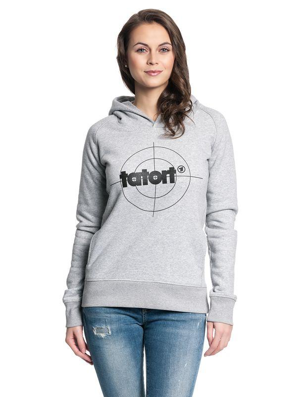 Tatort Classic Girl Hooded Sweater grey-melange – Bild 2