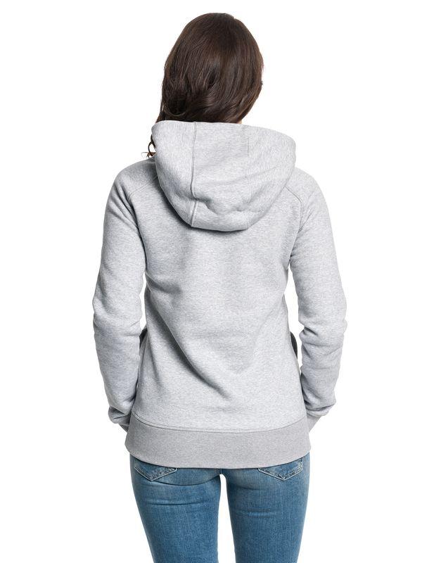 Tatort Classic Girl Hooded Sweater grey-melange – Bild 4