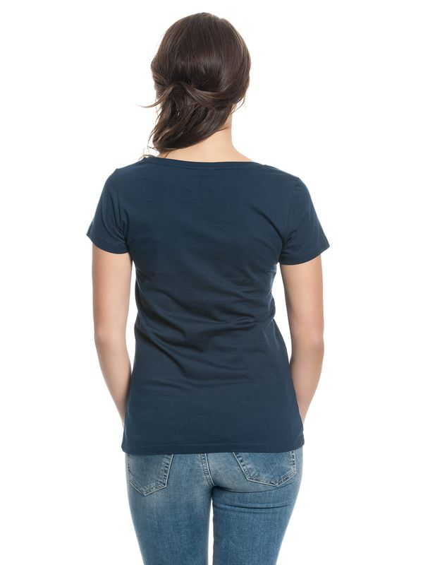 Tatort Classic Girl Shirt navy – Bild 2