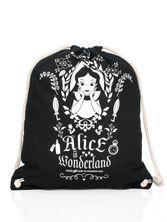 Alice in Wonderland Mirror Gym Bag Black – Bild 3
