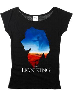 The Lion King Kings World Girl Loose Shirt schwarz – Bild 3