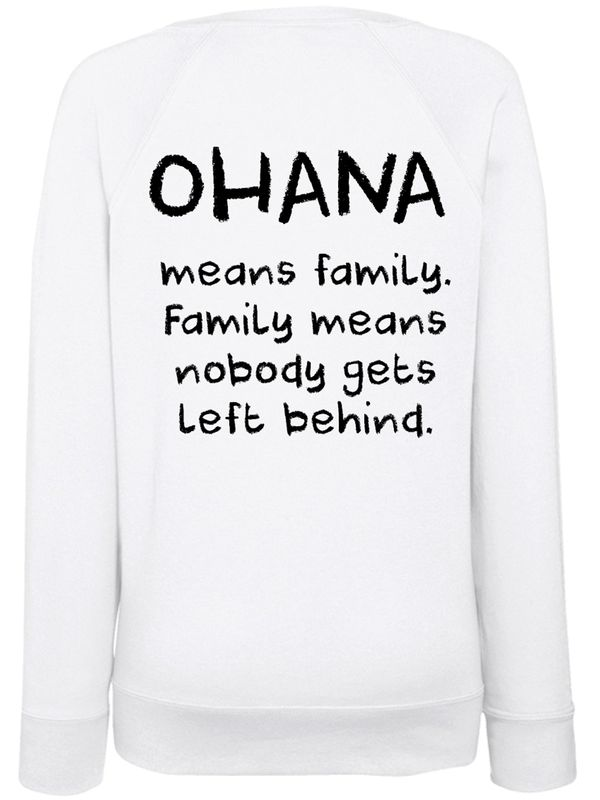 Disney Lilo&Stitch Ohana Stitch & Scrump Sweatshirt for women White – Bild 2