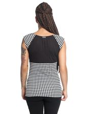 Pussy Deluxe Houndstooth Evie Tee for Women – Bild 3