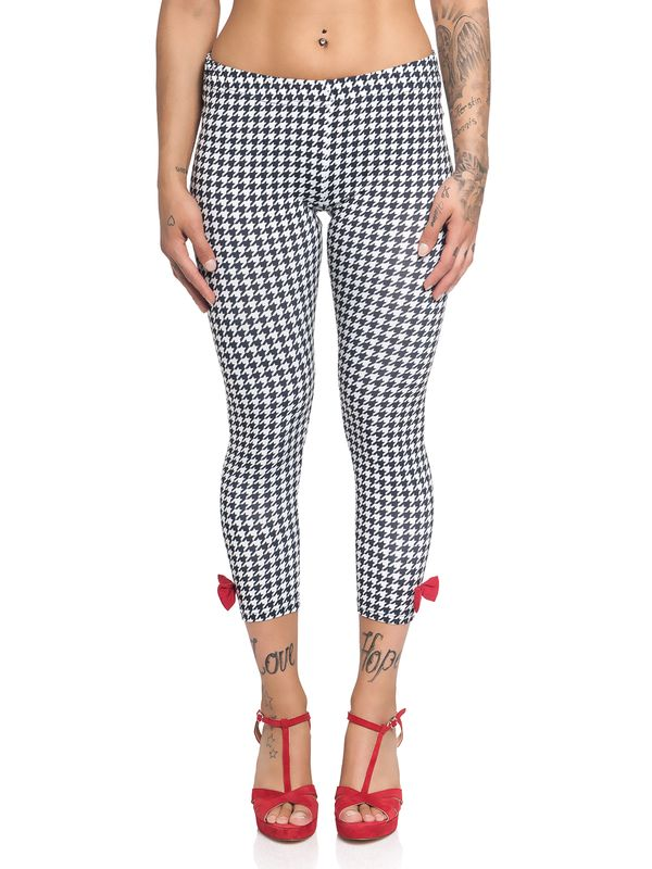 Pussy Deluxe Houndstooth Leggings for Women Allover – Bild 2