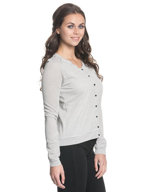 VIVE MARIA Montmatre Cardigan for Women White allover – Bild 2