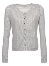 VIVE MARIA Montmatre Cardigan for Women White allover – Bild 0