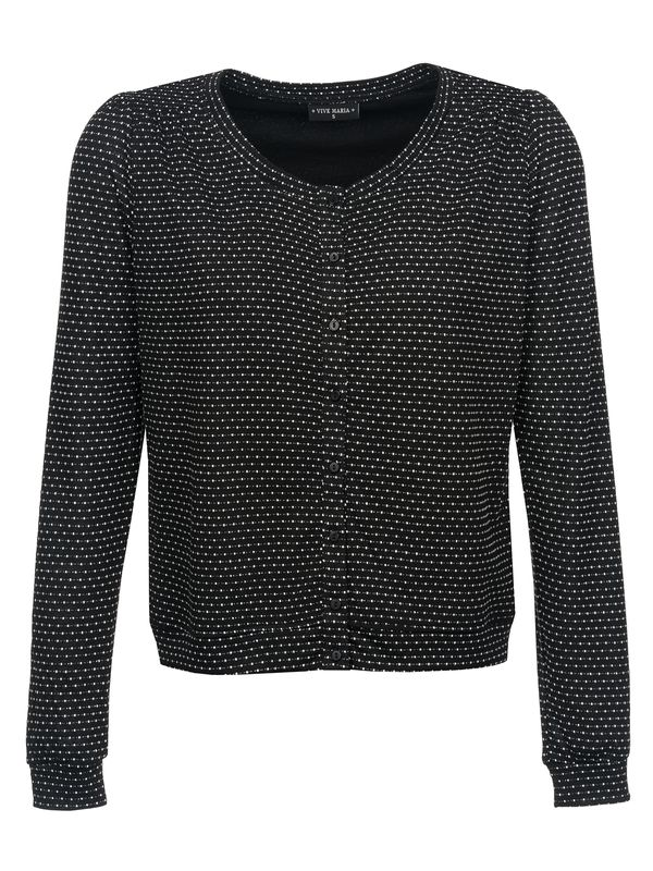 VIVE MARIA Madleine Cardigan for Women Black Allover – Bild 1