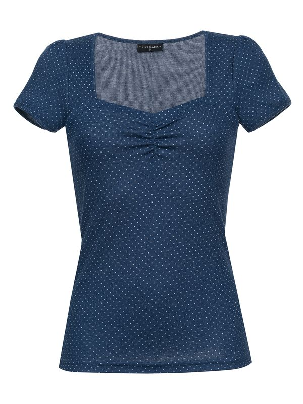 VIVE MARIA Audrey Shirt for Women Blue Allover – Bild 1