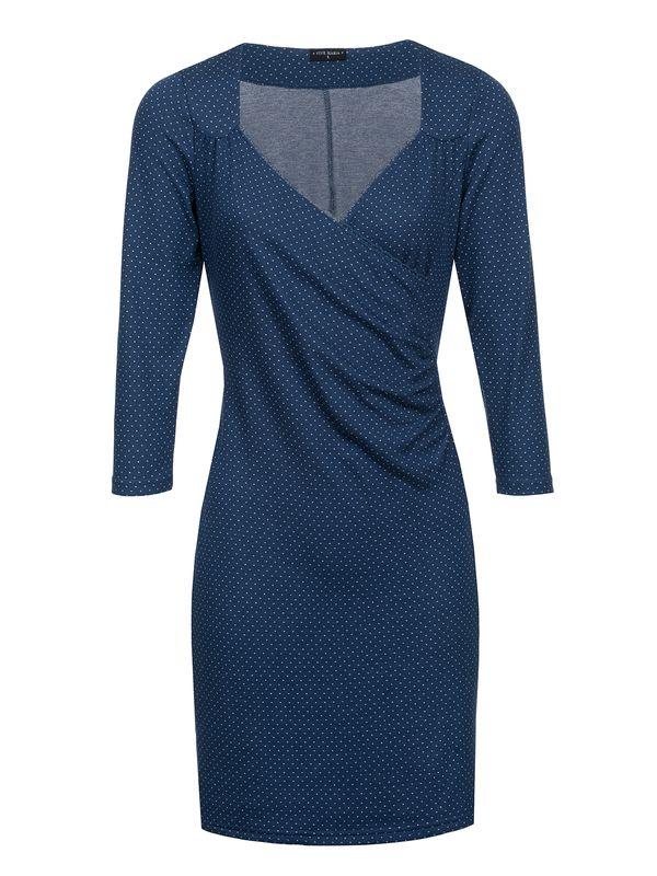 Vive Maria Audrey Wrapdress Blue Allover – Bild 1