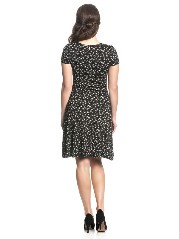 Vive Maria Classic Daisy Dress Black Allover – Bild 2