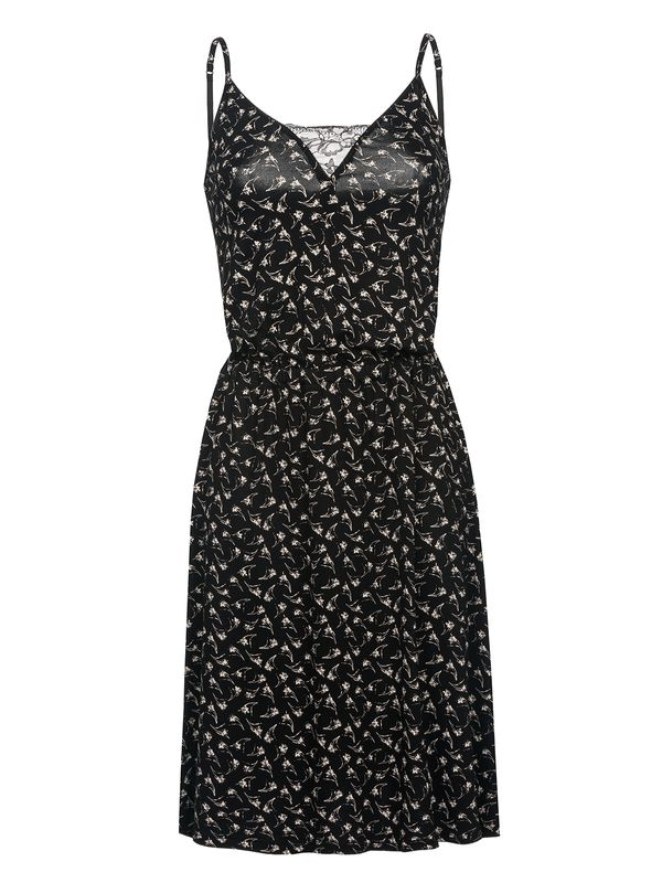 Vive Maria Daisy Pinafore Dress Black Allover – Bild 0