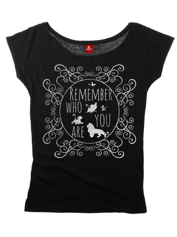 The Lion King Remember Who You Are Tee for Women Black – Bild 3
