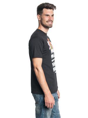 Muppets Mana Mana Herren T-Shirt Schwarz – Bild 2