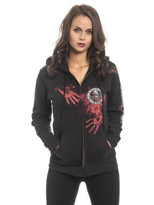 The Walking Dead Walker Security Kapuzenjacke für Damen Schwarz – Bild 0