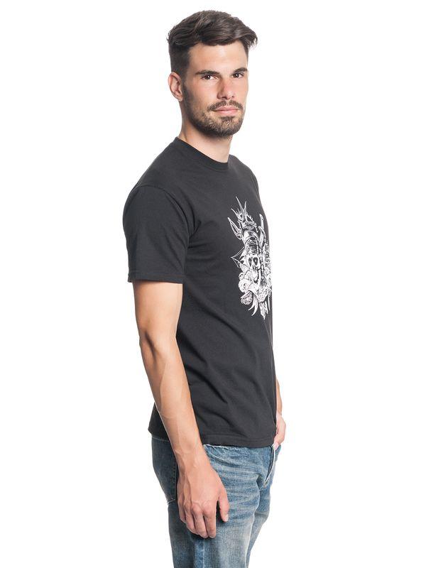 Fluch der Karibik Sparrow Herren T-Shirt Schwarz – Bild 3