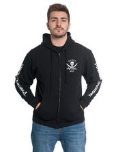 Pirates of the Caribbean El Mar Hoodie Sweatjacket for Men Black  – Bild 0