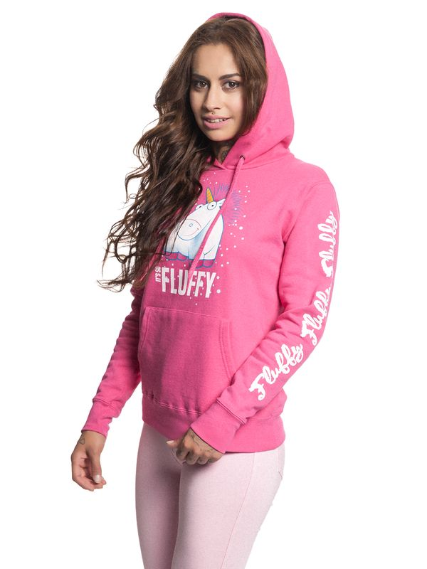 Minions It's So Fluffy Bubbles Hoodie for Women Pink – Bild 2