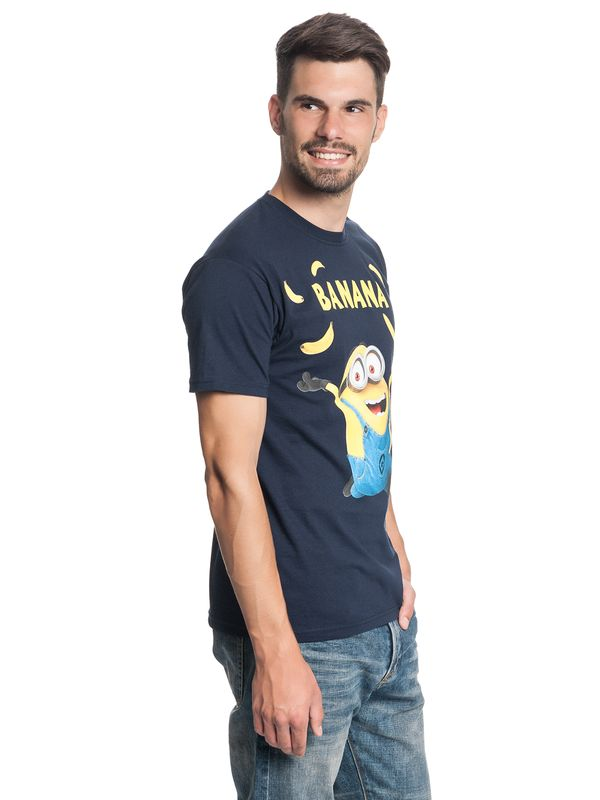Minions Banana Tee for Men Navy – Bild 2