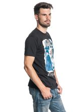 Blacklist Ripped Picture Male Tee Black – Bild 2