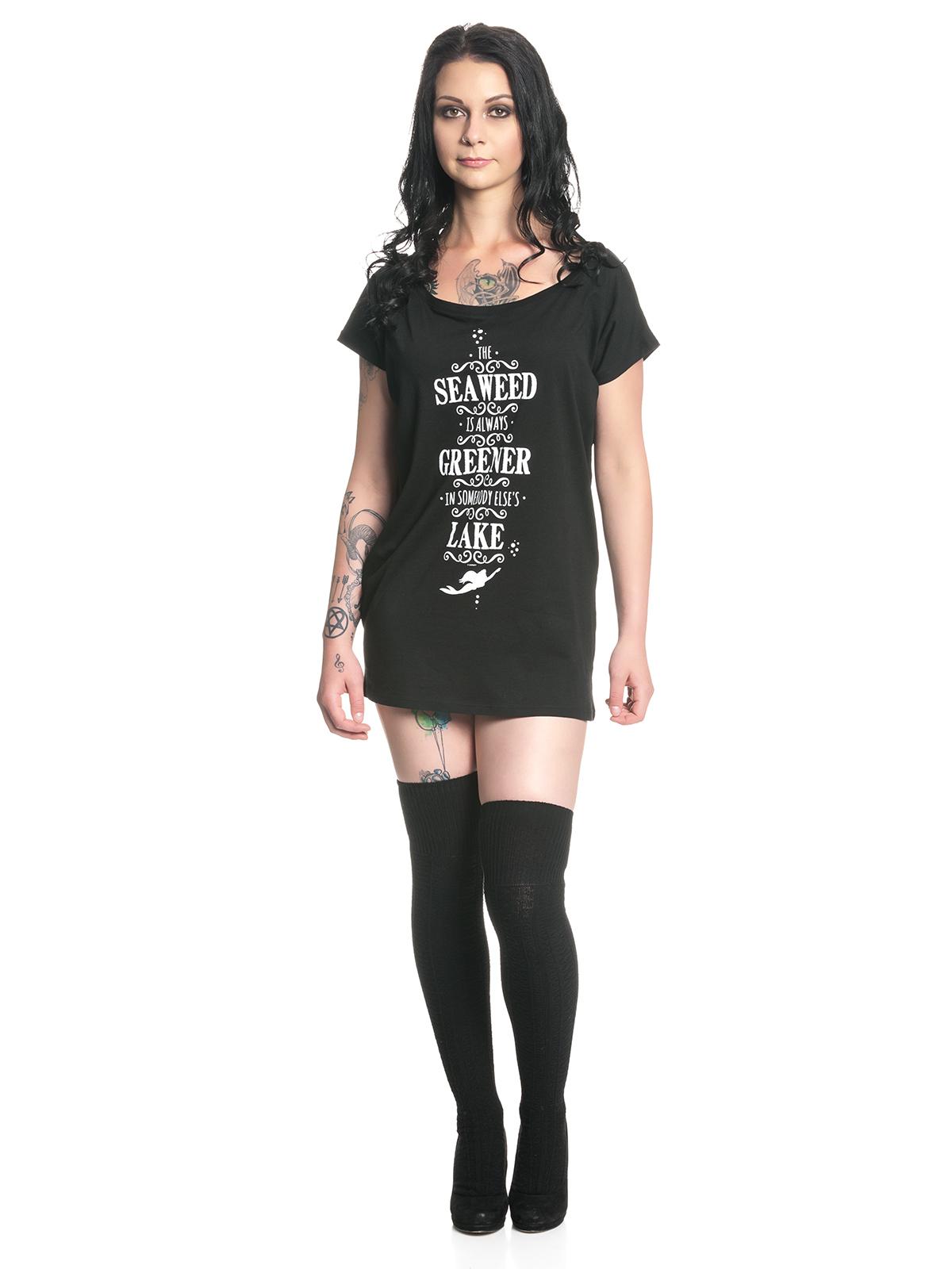 arielle seaweed damen t shirt schwarz damen t shirts tops. Black Bedroom Furniture Sets. Home Design Ideas