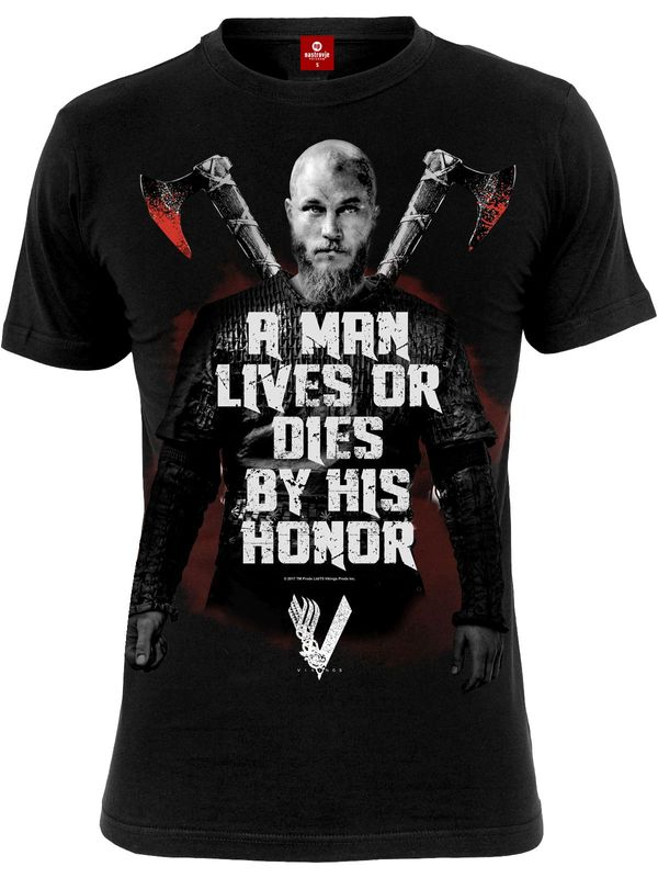Vikings Honor Male Tee Black view