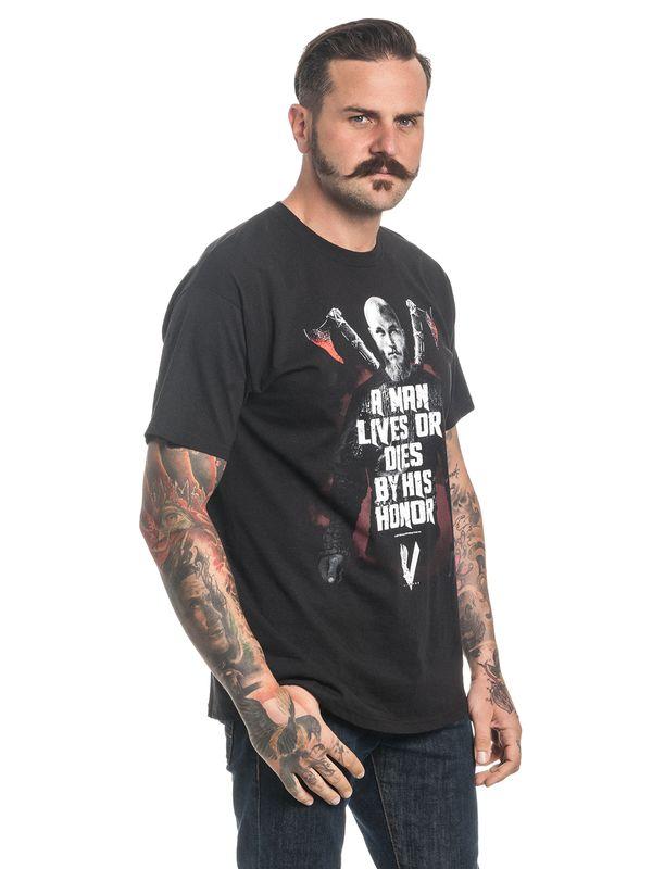 Vikings Honor Herren T-Shirt Schwarz – Bild 2