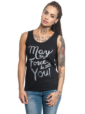 Star Wars May The Force Girl Top black – Bild 0