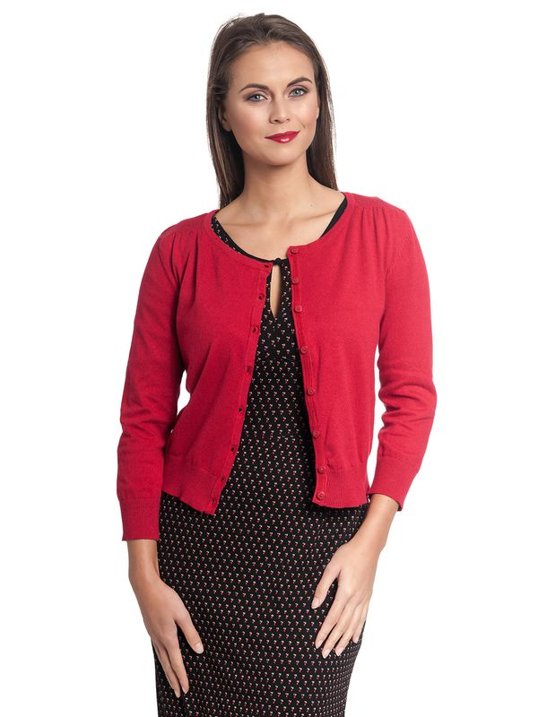 Vive Maria 50ies Look Short-Knit-Cardigan red – Bild 6