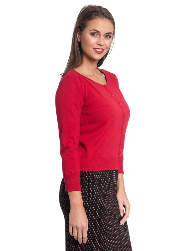 Vive Maria 50ies Look Short-Knit-Cardigan red – Bild 10