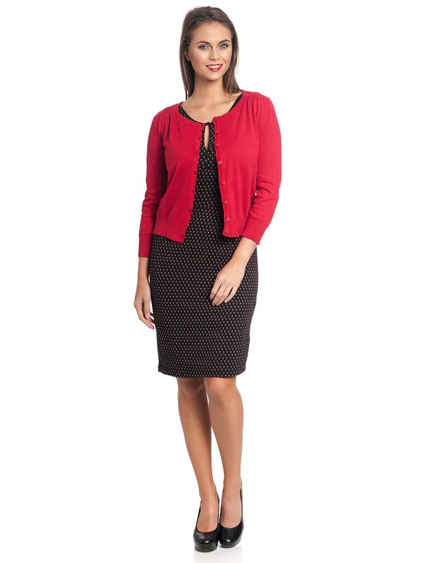 Vive Maria 50ies Look Short-Knit-Cardigan red – Bild 8