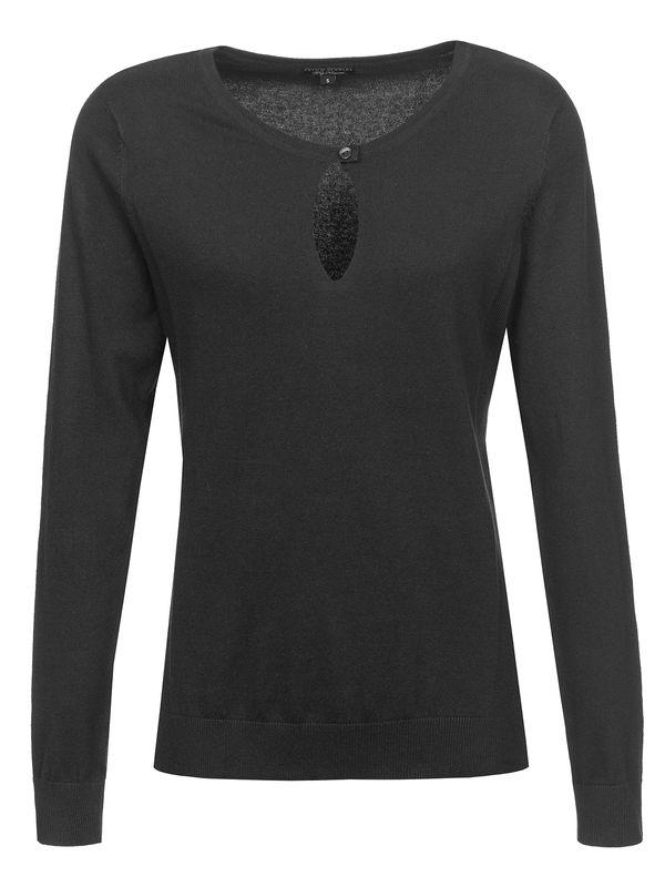 Vive Maria 50ies Look Pullover Black – Bild 0