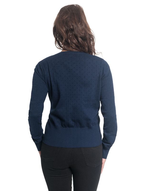 Vive Maria Sweetheart Short Knit-Cardigan navy – Bild 9