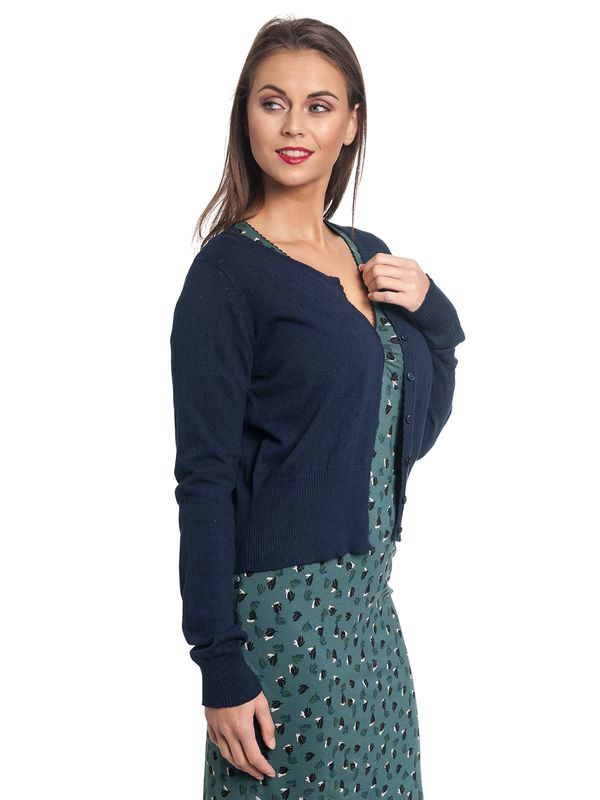 Vive Maria Sweetheart Short Knit-Cardigan navy – Bild 3